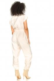 Kocca |  Jumpsuit with tie belt Bikilu | natural  | Picture 6