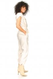 Kocca |  Jumpsuit with tie belt Bikilu | natural  | Picture 5