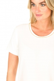 Kocca |  Top with rhinesstones Austin | natural  | Picture 6