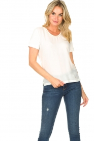 Kocca |  Top with rhinesstones Austin | natural  | Picture 2