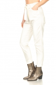 Kocca :  Cotton paperbag pants Lali | white - img5