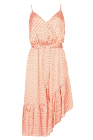 Kocca |  Sleeveless dress with print Chomar | orange  | Picture 1