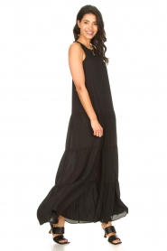 Kocca |  Maxi dress Jayani | black  | Picture 2