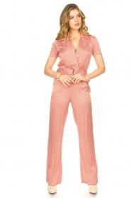 Kocca |  Printed jumpsuit Rakanja | orange   | Picture 3