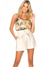 Kocca | Paperbag shorts Kito | naturel   | Afbeelding 2