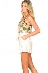 Kocca | Paperbag shorts Kito | naturel   | Afbeelding 5