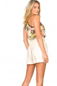 Kocca | Paperbag shorts Kito | naturel   | Afbeelding 6