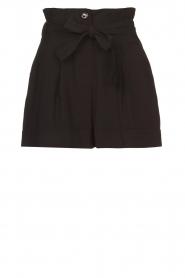 Kocca |  Paperbag shorts Kito | black  | Picture 1