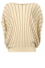 Liu Jo |  Top with batwing sleeves Jill | gold  | Picture 1