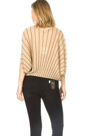 Liu Jo :  Top with batwing sleeves Jill | gold - img7
