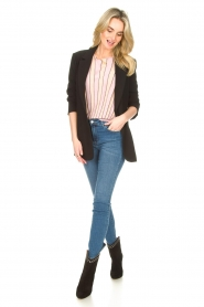 Liu Jo |  Top with batwing sleeves Jill | pink  | Picture 3