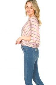 Liu Jo |  Top with batwing sleeves Jill | pink  | Picture 5