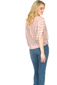 Liu Jo |  Top with batwing sleeves Jill | pink  | Picture 6