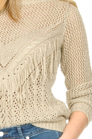 Liu Jo |  Openwork sweater Fay | gold  | Picture 8