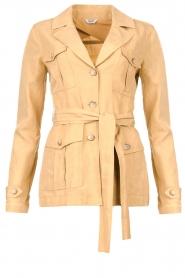 Liu Jo |  Safari suit blazer Kris | camel  | Picture 1