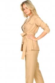 Liu Jo |  Safari suit blazer Kris | camel  | Picture 7