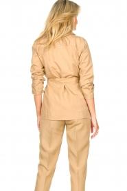 Liu Jo |  Safari suit blazer Kris | camel  | Picture 8