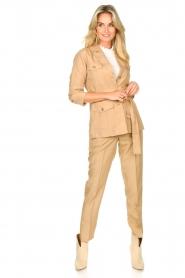 Liu Jo |  Safari suit blazer Kris | camel  | Picture 3