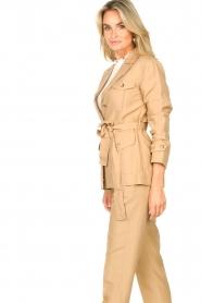 Liu Jo |  Safari suit blazer Kris | camel  | Picture 6