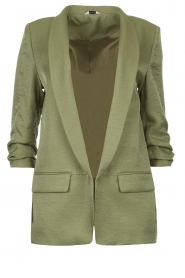 Liu Jo |  Blazer with a soft shimmer Lola | green  | Picture 1
