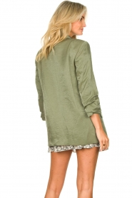 Liu Jo |  Blazer with a soft shimmer Lola | green  | Picture 8