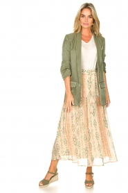 Liu Jo |  Blazer with a soft shimmer Lola | green  | Picture 4