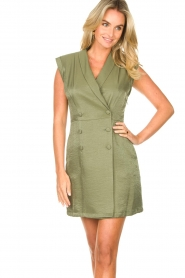 Liu Jo :  Blazer dress Mila | green  - img4
