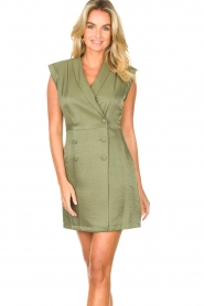 Liu Jo :  Blazer dress Mila | green  - img6