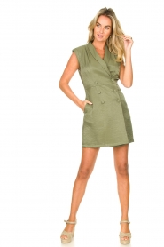 Liu Jo :  Blazer dress Mila | green  - img3