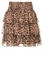 Liu Jo |  Skirt with leopard print Emily | animal print  | Picture 1