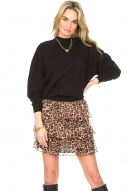 Liu Jo |  Skirt with leopard print Emily | animal print  | Picture 2