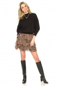 Liu Jo |  Skirt with leopard print Emily | animal print  | Picture 4