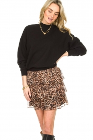 Liu Jo |  Skirt with leopard print Emily | animal print  | Picture 5