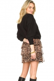 Liu Jo |  Skirt with leopard print Emily | animal print  | Picture 8
