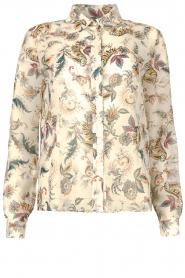 Liu Jo |  See-through blouse Liz | multi  | Picture 1