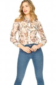 Liu Jo |  See-through blouse Liz | multi  | Picture 5