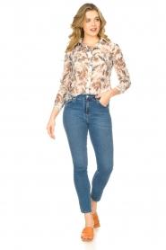 Liu Jo |  See-through blouse Liz | multi  | Picture 3