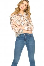 Liu Jo |  See-through blouse Liz | multi  | Picture 4