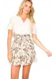 Liu Jo |  Paisley printed skirt Emily | natural   | Picture 5