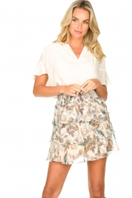 Liu Jo |  Paisley printed skirt Emily | natural   | Picture 2