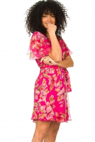 Liu Jo |  Floral wrapdress Olivia | pink  | Picture 4