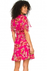 Liu Jo |  Floral wrapdress Olivia | pink  | Picture 5