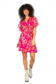 Liu Jo |  Floral wrapdress Olivia | pink  | Picture 3