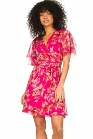 Liu Jo |  Floral wrapdress Olivia | pink  | Picture 2