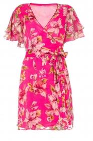 Liu Jo |  Floral wrapdress Olivia | pink  | Picture 1