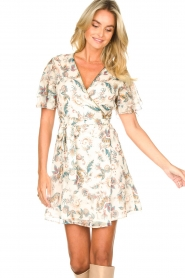 Liu Jo |  Floral wrapdress Olivia | natural  | Picture 5