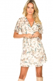 Liu Jo |  Floral wrapdress Olivia | natural  | Picture 2