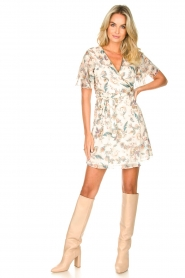 Liu Jo |  Floral wrapdress Olivia | natural  | Picture 3