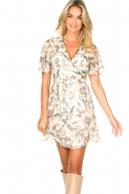 Liu Jo |  Floral wrapdress Olivia | natural  | Picture 4