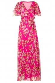 Liu Jo |  Floral maxi dress Cindy | pink  | Picture 1